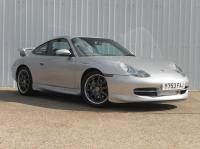 Porsche 996 manual C4 with factory GT3 aero kit