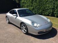 996 Carrera C2 2003 Arctic Silver Blue Leather