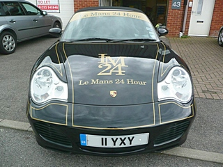 Porsche Body Wrapping